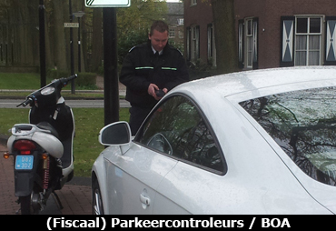 Fiscaal Parkeercontroleur of BOA VKRC